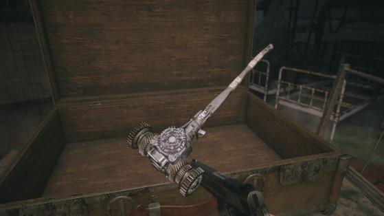 Trésor Heisenberg Resident Evil Village : Comment compléter le marteau ?