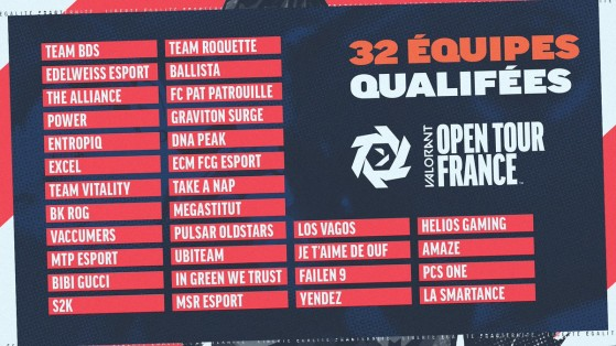 Valorant Open Tour France : les 5 joueurs qui ont dominé le premier week-end