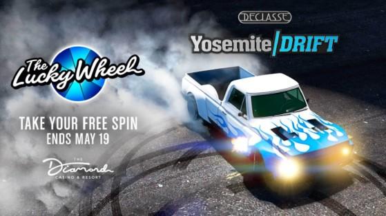 Drift Yosemite, GTA Online : Comment se faire un max de GTA RP et dollars, les promo de la semaine