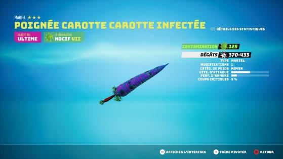 Exemple d'une arme cac ultime (une carotte... ^^) - Biomutant