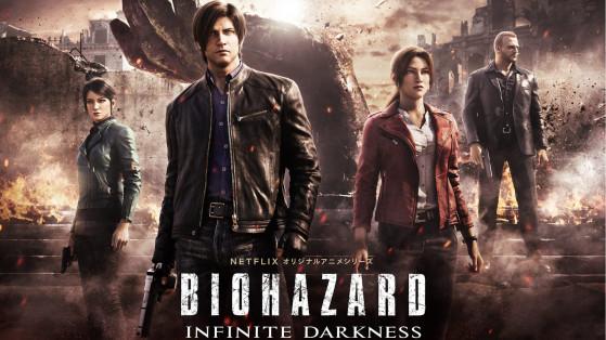 Anime Resident Evil Infinite Darkness sur Netflix le 8 juillet
