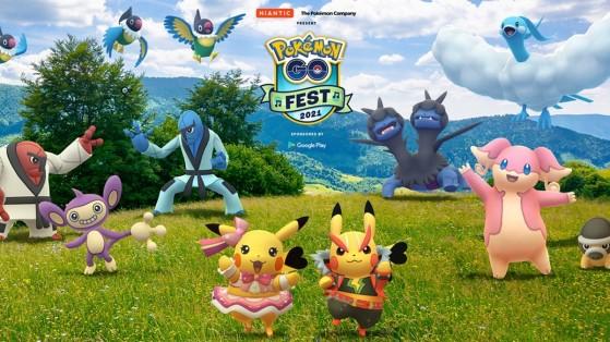 Pokémon GO Fest 2021 : dates, musiques et toutes les informations révélées