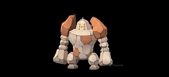 Regirock normal - Pokemon GO