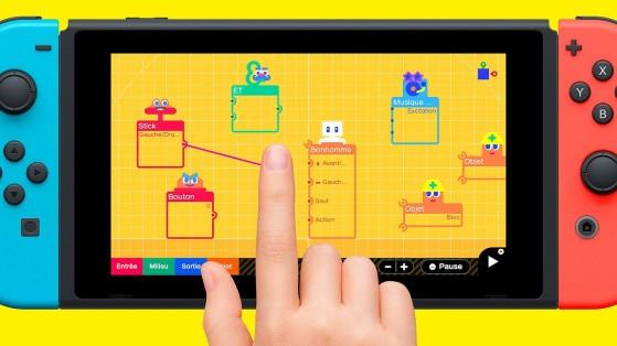 Test de l'Atelier du Jeu Vidéo sur Nintendo Switch : Demandez le programme !