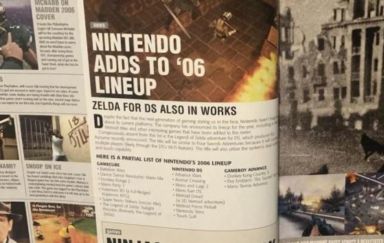 Le magazine Game Informer publié en juin 2005 - Metroid Dread