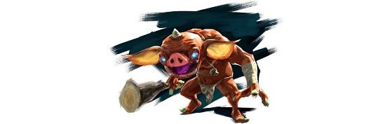Les bokoblins dans BotW1 - Zelda Breath of the Wild 2