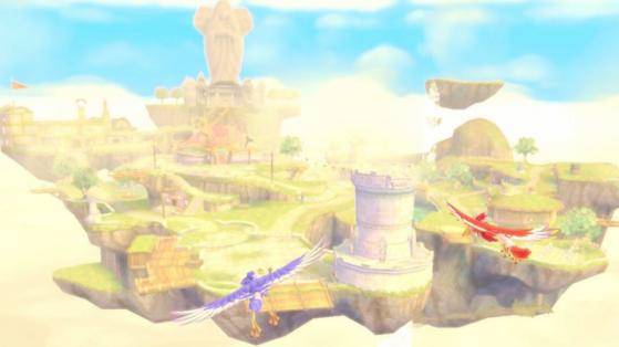 Célesbourg Zelda Skyward Sword HD : tous les quarts de cœur à trouver