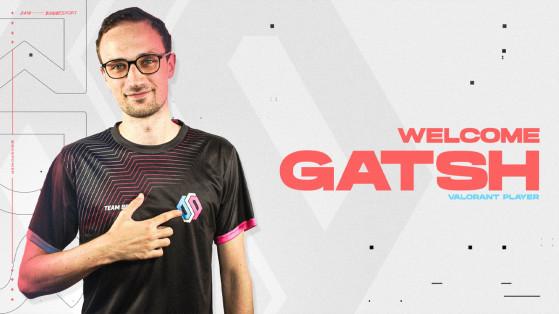 Valorant : Team BDS recrute GatsH et passe à un roster à 6