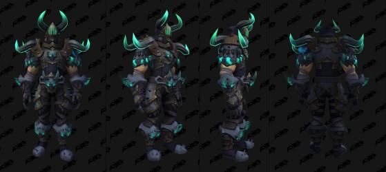 Ensemble pour le Chevalier de la mort - World of Warcraft