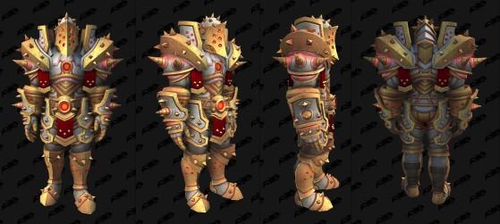 Ensemble pour le Guerrier - World of Warcraft