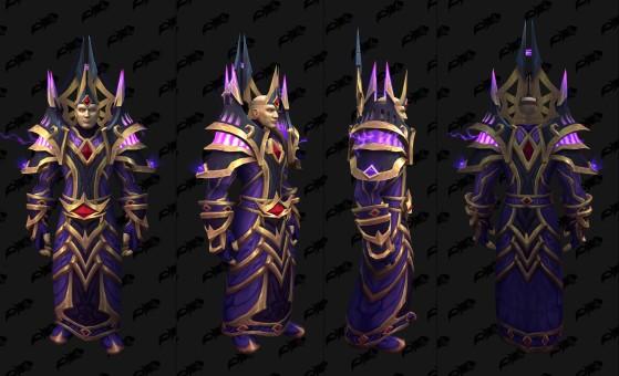Ensemble  pour le Mage - World of Warcraft