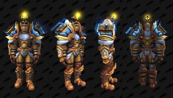 Ensemble pour le Paladin - World of Warcraft