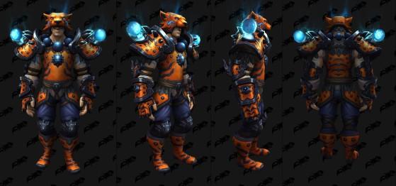 Ensemble pour le Moine - World of Warcraft