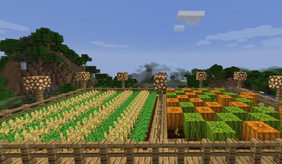 Minecraft : Guide sur l'Agriculture, blé, carotte, pomme de terre, verrues du nether, canne à sucre