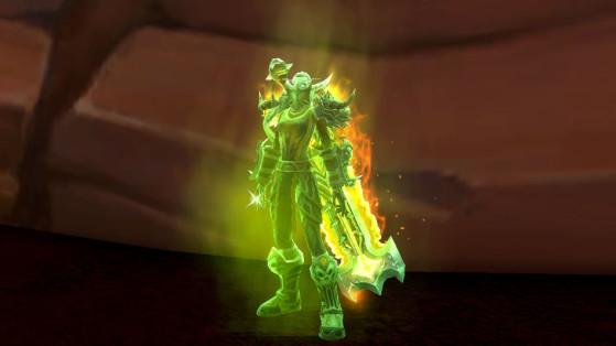 L'apparence de l'éclat d'esprit anxieux - World of Warcraft