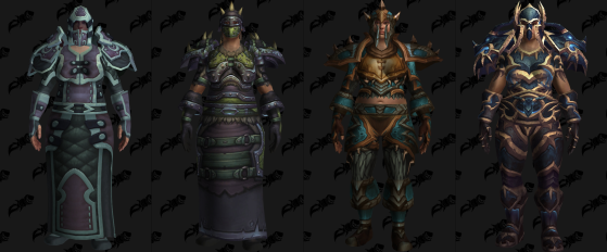 Ensembles d'armures de la Saison 4 - World of Warcraft