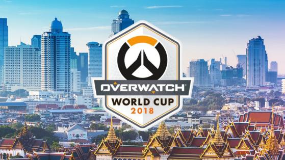 Overwatch World Cup 2018 : Phases de poules Thaïlande, résultats