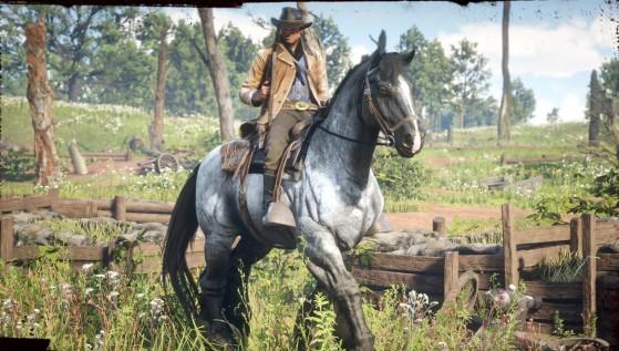 Cheval de Guerre Red Dead Redemption 2, bonus de précommande