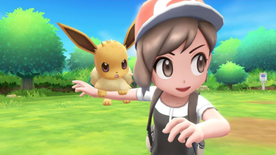 Test Pokémon Let's GO Pikachu Evoli, Nintendo Switch