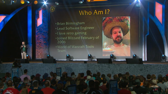 Bryan Birmingham - Lead sofware engineer - World of Warcraft