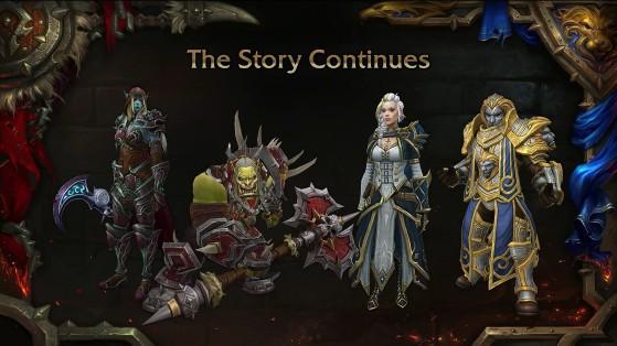 Sylvanas portait Xal'atath sur l'une des images présentées à la Blizzcon - World of Warcraft