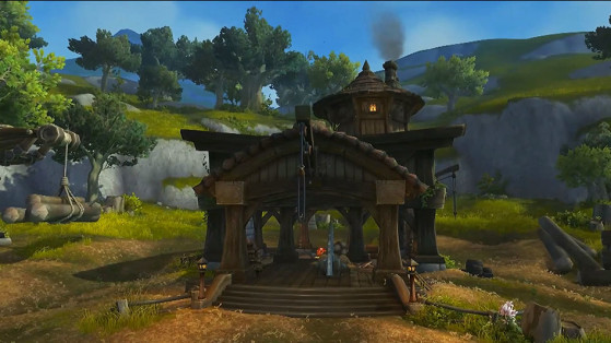La Scierie du Bassin d'Arathi au Patch 8.1 - World of Warcraft