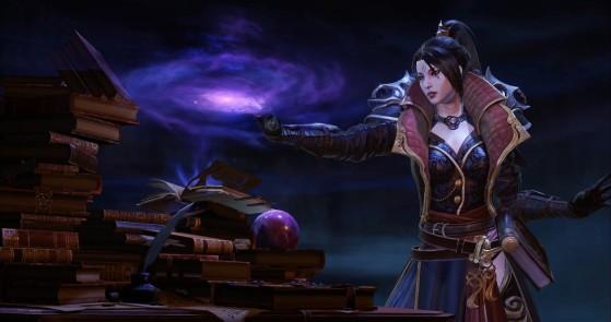 Diablo Immortal : Sorcier, wizard, classe, build, skills, équipement