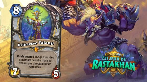 Hearthstone Jeux de Rastakhan : Princesse Talanji (Princess Talanji)