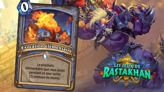 Hearthstone Jeux de Rastakhan : Evocation élémentaire (Elemental Evocation)