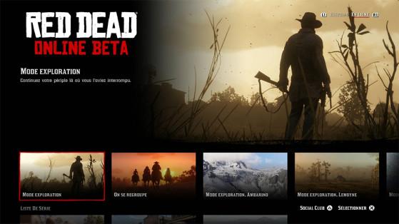 Comment jouer en ligne, Red Dead Redemption 2