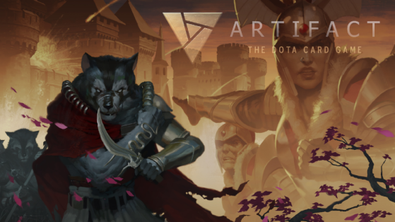 Artifact : comics DOTA, lore