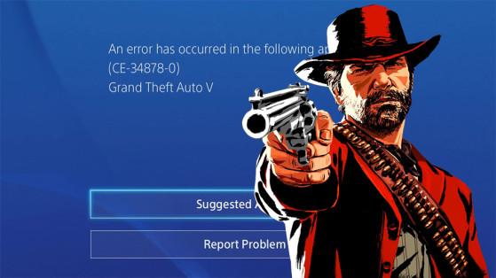 Erreur ce-34878-0 sur PS4, Red Dead Online - Millenium