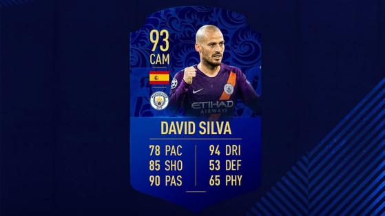 FUT 19 : DCE David Silva TOTY, Le Centurion