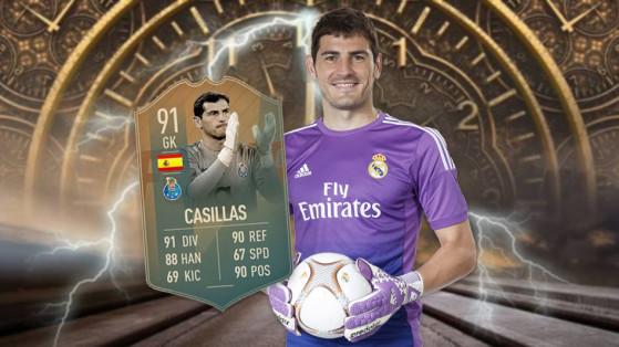 FUT 19 : DCE Casillas Flashback