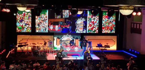 La scène de la compétition - Dragon Ball FighterZ