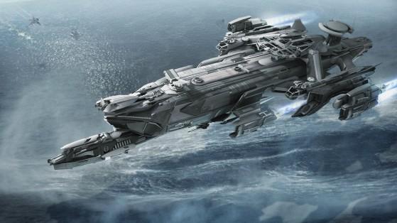 L'Idris est le vaisseau capital moyen de Aegis Dynamics - Star Citizen
