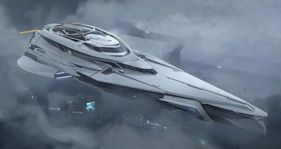 Le 890 Jump est le Vaisseau de Croisière d'Origin - Star Citizen