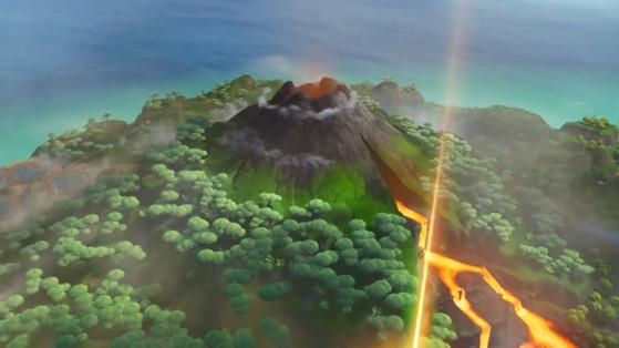 Fortnite saison 8 : Volcan, nouvelle zone, lave du volcan