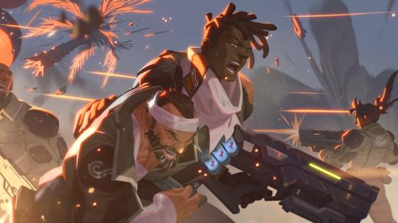 Overwatch : skin Griffe leak, Baptiste, Talon, Archives