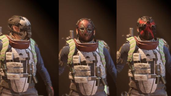 Guide The Division 2 : Masque Apparition, Croix, Losange, Mort, secret