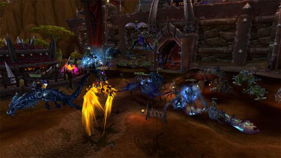 Quand on s'en prend à un membre du Trident, on sait à quoi on s'expose - World of Warcraft
