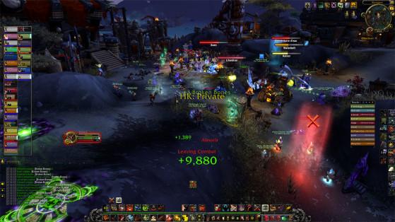 Ils nous rendaient bien nos assauts répétés à Bouclier-des-Tempêtes - World of Warcraft
