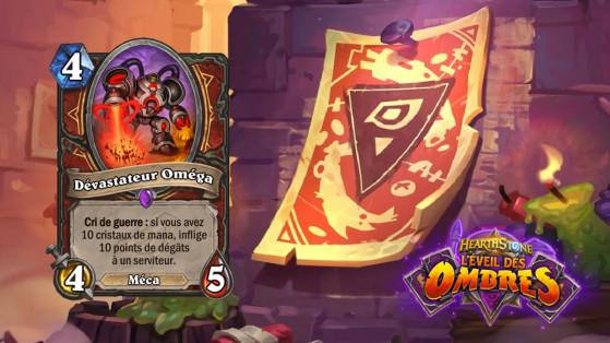 Hearthstone L'Eveil des Ombres : Dévastateur Oméga (Omega Devastator)