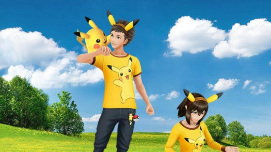 Pokemon GO : nouvelles poses, avatar masculin et féminin