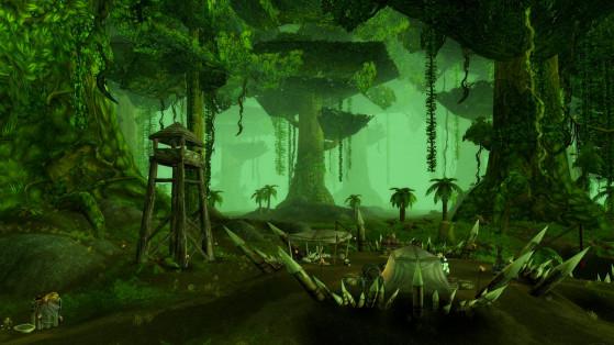 Des Gnomes et des Gobelins partent en expédition à Un'Goro... SPOILER ! ça tourne mal ! - World of Warcraft