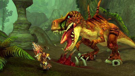 Ça, pour buter des bébés mammouths dans la Toundra Boréenne, y'a du monde, mais quand il y a du vrai gibier, tout le monde a mieux à faire. - World of Warcraft