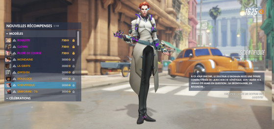 Moira Scientifique - Overwatch
