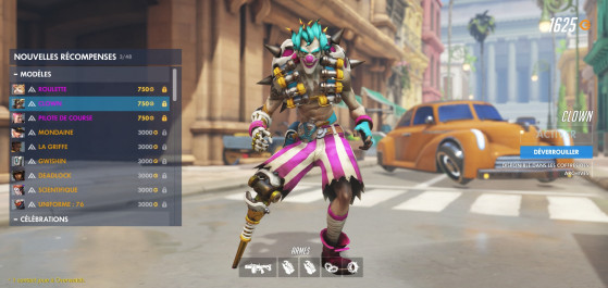 Chacal Clown - Overwatch