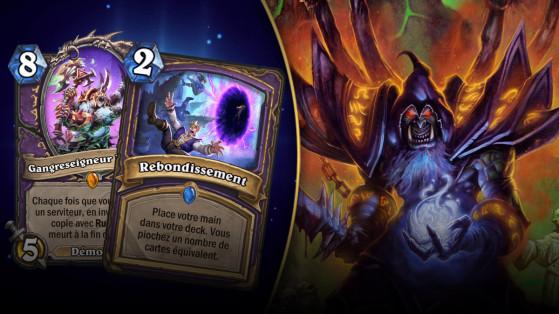 Hearthstone : deck Démoniste Contrôle L'Eveil des Ombres (Rise of Shadows)