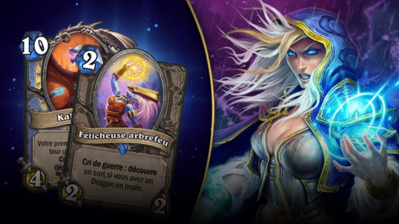 Hearthstone : deck Mage Dragons L'Eveil des Ombres (Rise of Shadows)